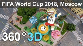 360 video, Moscow before FIFA World Cup 2018
