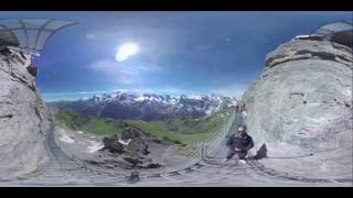 360 Video I Thrill Walk I Schilthorn I Switzerland