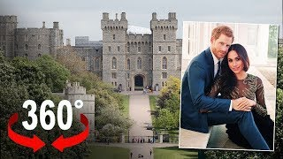 Windsor, the place of the marriage of Meghan and Harry