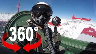 360° air show | PC-7 TEAM @ St. Moritz | Swiss Air Force | Teaser