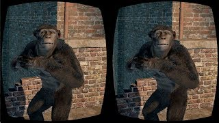 Planet of the Apes VR Box Google Cardboard Video 3D SBS Virtual Reality Video