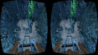 3D SBS Cave Roller Coaster VR Box Virtual Reality Google Cardboard Video