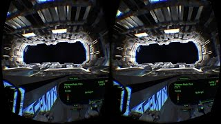 Space Battle VR Google Cardboard Video 3D SBS Virtual Reality Video