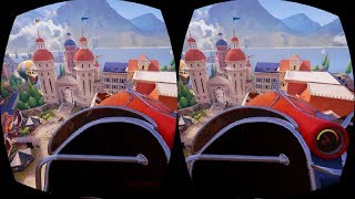 G2A Roller Coaster VR Google Cardboard 3D SBS Virtual Reality Video