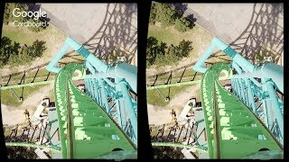 3D Kingda ka | 3D Side by Side SBS VR Active Passive
