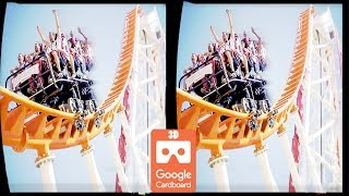 3D VR ROLLER COASTER CRAZY VR Videos 3D SBS [Google Cardboard VR] Virtual Reality VR Box Video 3D