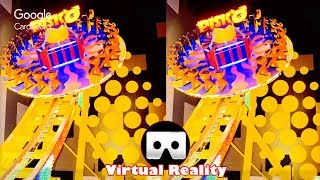 3D DISKO RIDE RCT 3 VR Videos 3D SBS Google Cardboard VR Virtual Reality VR Box