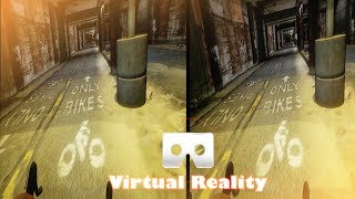 3D GTA V BIKE RIDER| 3D Side By Side SBS Google Cardboard VR Box Gear Oculus Rift
