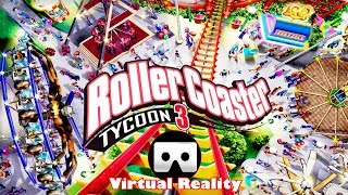 3D ROLLER COASTER TYCOON  VR Videos 3D SBS Google Cardboard VR Virtual Reality VR Box