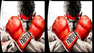 3D STREET FIGHTERS VR Videos 3D SBS Google Cardboard VR Virtual Reality VR Box Vide