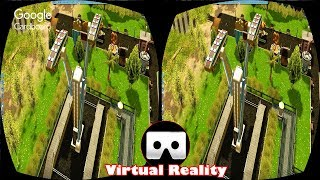 3D DOUBLE SWIMING RIDE VR Videos 3D SBS Google Cardboard VR Virtual Reality VR Box