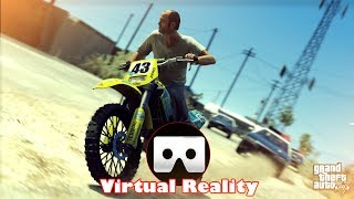 3D MOTOCROSS GTA V VR Videos 3D SBS Google Cardboard VR Virtual Reality VR Box
