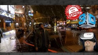 3D Bike in the Rain - GTA V | VR/Cardboard/Active/Passive - SBS
