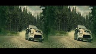 3D Ford Focus - Finland Rally - Dirt 3 | VR/Cardboard/Active/Passive - SBS