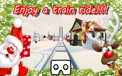 VR Christmas Journey Joy Ride (Google Cardboard)